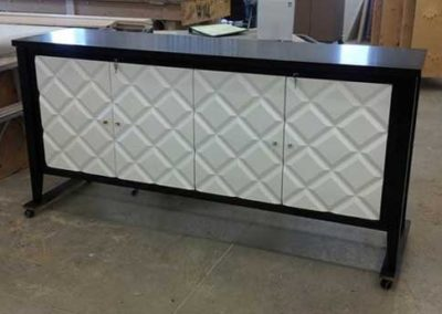 Diamond Pattern Cabinet