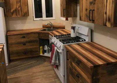 Barnboard Kitchen